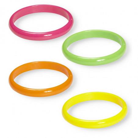 Bracelet Fluo Neon - Lot de 3