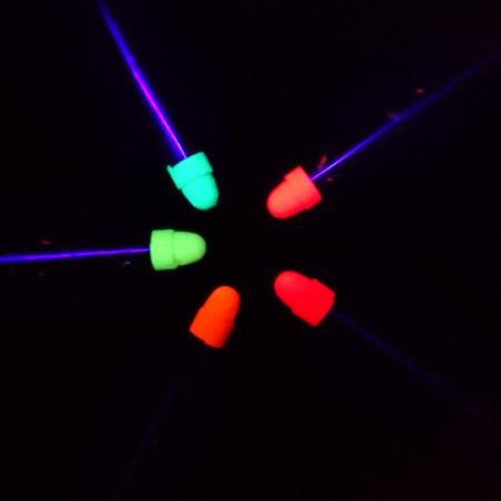 Mini Crayons Fluo Corps - Lot de 5