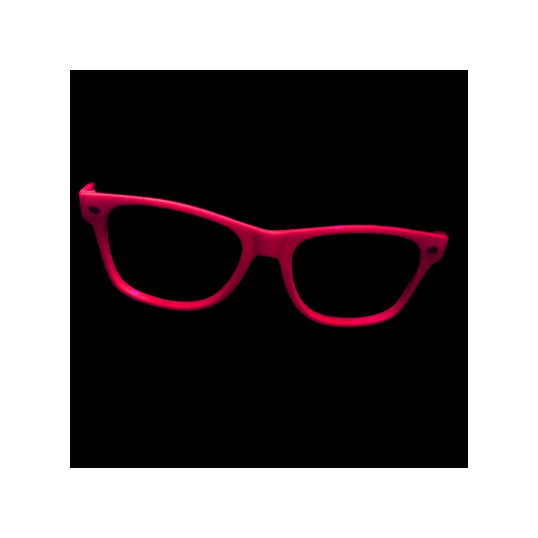 Lunettes Fluo sans verre, Déguisement Fluo - Couleur de Nuit c9ae47872909
