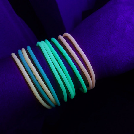 Bracelet phosphorescent - Lot de 10