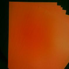 Papier-Neon-A4 - Stapel von 10 Blatt