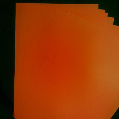 A4 Fluopapier - Packung mit 10 Blatt