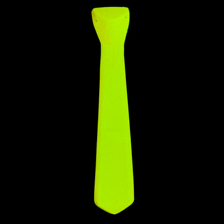 Cravate Fluo en Plastique