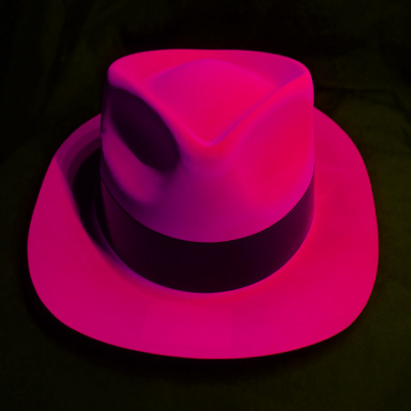 Chapeau Fluo Al Capone avec défauts