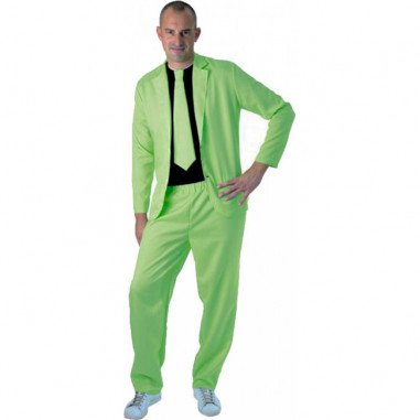 Neongrüner Anzug