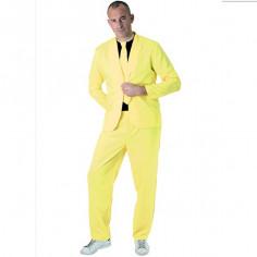 Kostüm-Neon Gelb