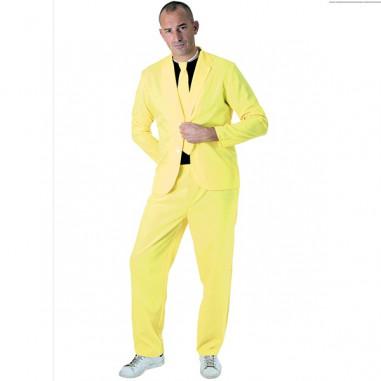 Neongelber Anzug