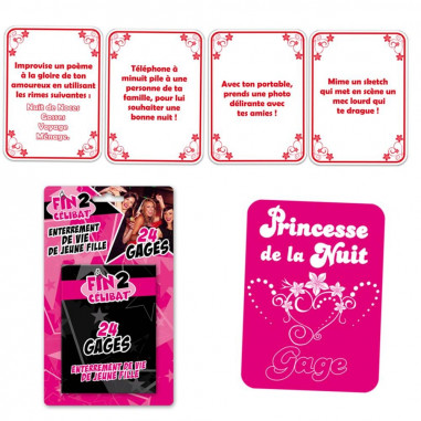 Spiele 24 Gages Bachelorette Party