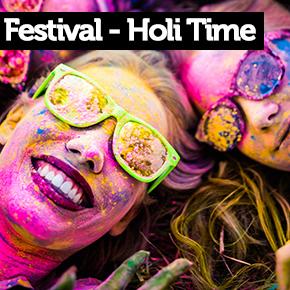 Festival Holi & Holi Time