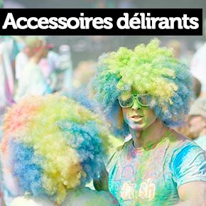 Accessoires délirants color run