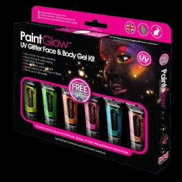 Bos peinture corps carnval fluo