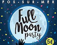 Full moon fos sur mer