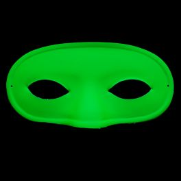 Masque loup carnval fluo
