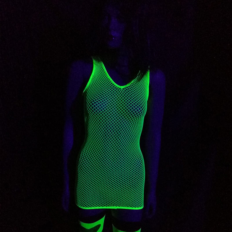 Robe Sexy Fluo